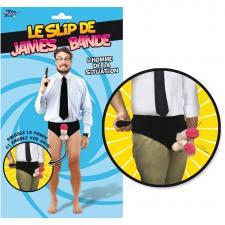 Cadeau humoristique pour homme avec slip James bande (x1) REF/SEXG021