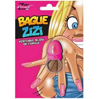 Cadeau humoristique pour adulte avec bague zizi rose (x1) REF/SEXG004
