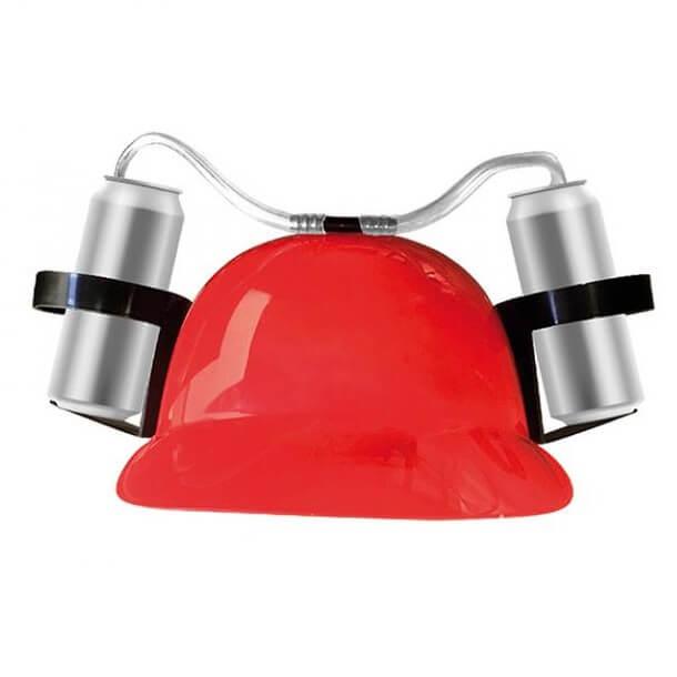 Cadeau casque anti soif rouge