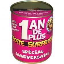 Boîte surprise anniversaire femme (x1) REF/ BT02