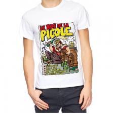 T-shirt homme humour: Roi de la picole (x1) REF/TSHS222