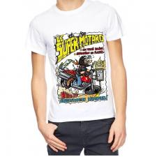 T-shirt homme humour: Super motard (x1) REF/TSHS221