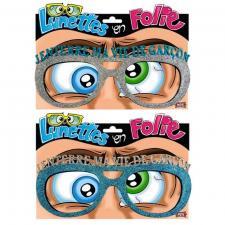 Cadeau lunettes pailletées enterrement de vie de garçon (x1) REF/LUNA09