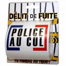 Cadeau humour: Papier toilette délit de fuite (x1) REF/PQ14