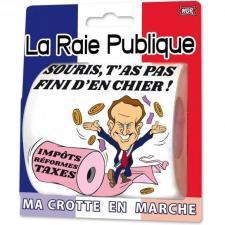 Cadeau humour: Papier toilette la raie publique (x1) REF/PQ17