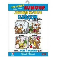T-shirt enterrement de vie de garçon (x1) REF/TSHS217