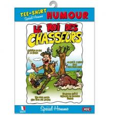 T-shirt homme humour: Chasseur (x1) REF/TSHS225