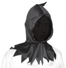 Cagoule visage invisible noire (x1) REF/51302