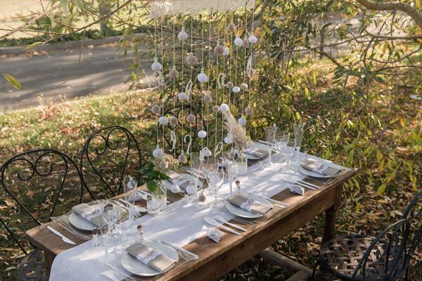 Calculer les longueurs d une table de mariage