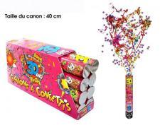 Canon à confettis anniversaire 30ans, 40cm (x1) REF/CAC03