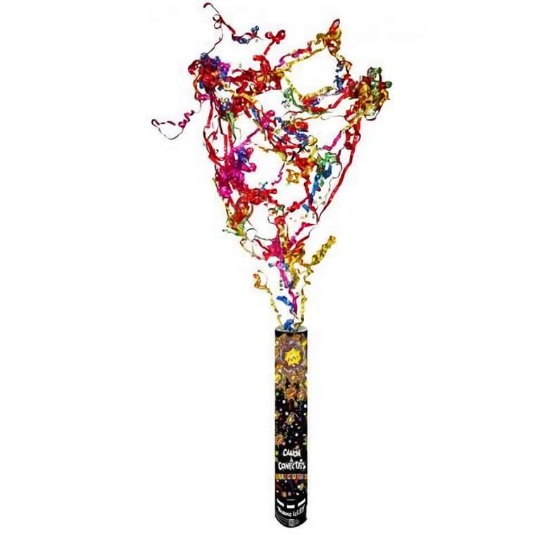 Canon a confettis multicolore de fete