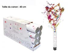 Canon à confettis vive les mariés, 40cm (x1) REF/CACM