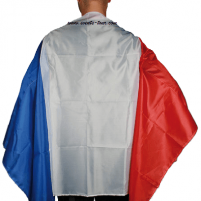Cape fan tricolore France 90cm x 150cm (x1) REF/00/0754