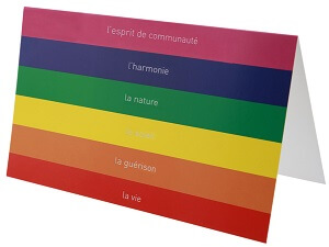 Carte arc en ciel 1