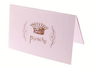 Carte princesse (x6) REF/3957