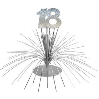 Centre de table anniversaire 18ans (x1) REF/CDT01