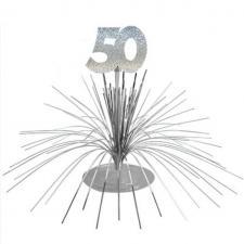 Centre de table anniversaire 50ans (x1) REF/CDT05