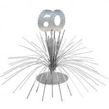 Centre de table anniversaire 60ans (x1) REF/CDT06