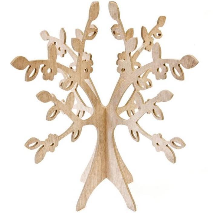 Centre de table arbre naturel en bois