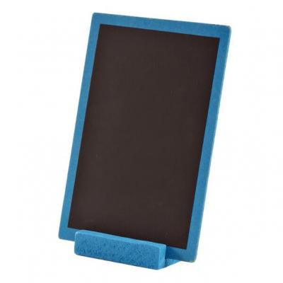 Grande ardoise bleu turquoise 10cm x 15cm (x1) REF/3348