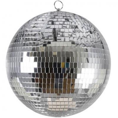 Centre de table boule à facettes disco ou année 80 (x1) REF/71198