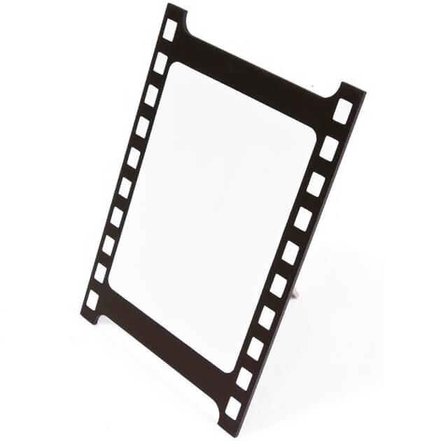 Centre de table cinema noir et blanc sur chevalet