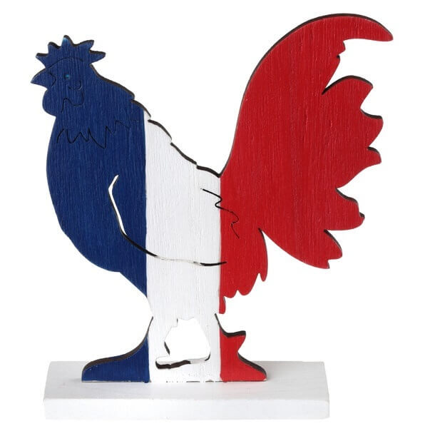 Centre de table coq france football 1