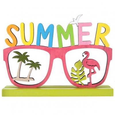 Centre de table tropical en bois: Summer (x1) REF/6411