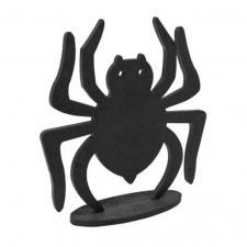 Centre de table Halloween araignée en bois (x1) REF/DEC990