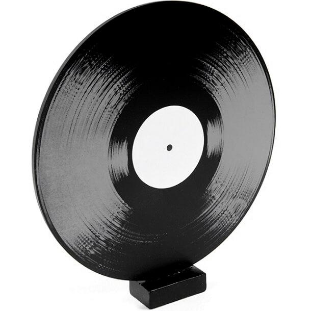 Centre de table musique disque 33t vinyl