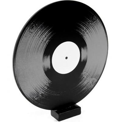 Centre de table musique disque 33T vinyl (x1) REF/DEC694