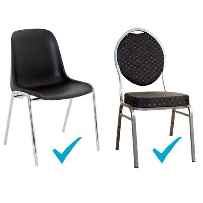 REF/EV-349 / Location d'une housse de chaise blanche Spandex (x1)