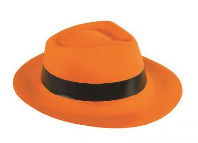 Chapeau Al Capone orange (x1) REF/52603