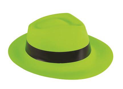 Chapeau al capone vert