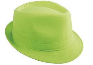 Chapeau Borsalino vert fluo (x1) REF/14382
