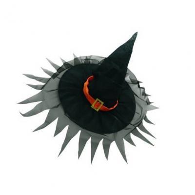 Chapeau de sorcière noir (x1) REF/50720