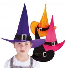 Chapeau de sorcière enfant (x1) REF/75420