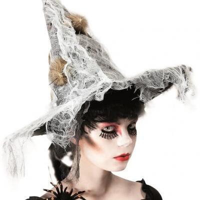 Chapeau sorcière Halloween (x1) REF/39050