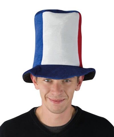 Chapeau tricolore france