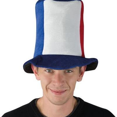 Chapeau HDF tricolore France (x1) REF/80214