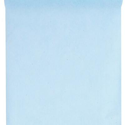 Chemin de table in tissé bleu ciel 60cm x 10m (x1) REF/2810