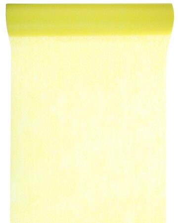 Chemin de table 60cm jaune