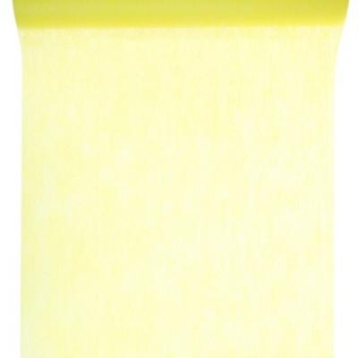 Chemin de table in tissé jaune 60cm x 10m (x1) REF/2810