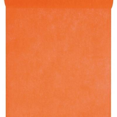 Chemin de table in tissé orange 60cm x 10m (x1) REF/2810
