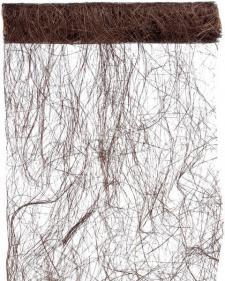 Chemin de table abaca 60cm: Chocolat (x1) REF/2848