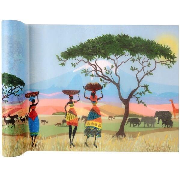 Chemin de table afrique