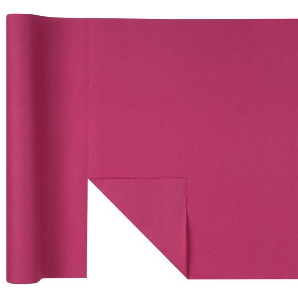 Chemin de table airlaid predecoupe fuchsia