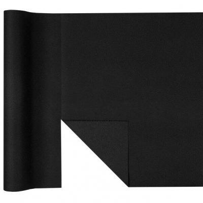 Chemin de table Airlaid noir prédécoupé (x1) REF/6809