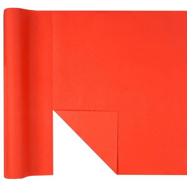 Chemin de table airlaid predecoupe rouge
