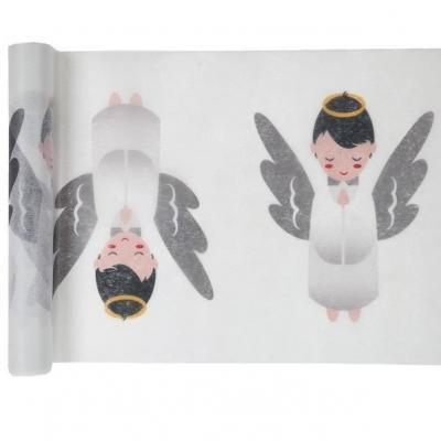 Chemin de table ange pour Baptême (x1) REF/4885